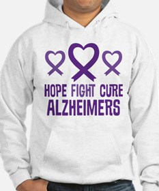 Alzheimers Hope Fight Cure Hoodie