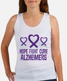 Alzheimers Hope Fight Cure Tank Top