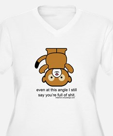 Funny Full of Shit Insult Plus Size T-Shirt
