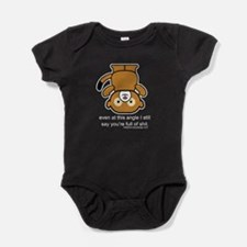 Funny Full of Shit Insult Baby Bodysuit