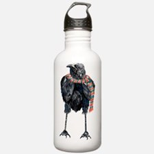Cute Crow Water Bottle