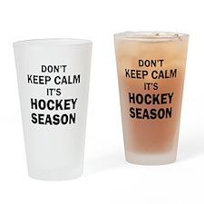 IT'S HOCKEY SEASON Drinking Glass