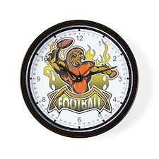 Fantasy Football Player Wall Clock