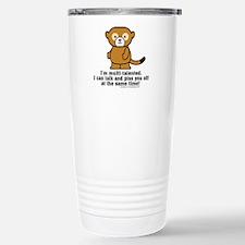 Multi-Talented Monkey Travel Mug
