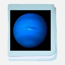 Neptune by the Voyager 2 baby blanket