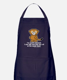 Multi-Talented Monkey Apron (dark)