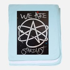 We Are Stardust baby blanket