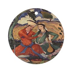 Passion and Music Ornament (Round)