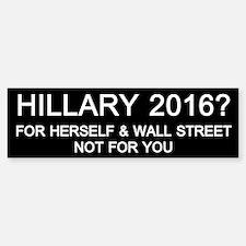 Hillary 2016? Bumper Bumper Bumper Sticker