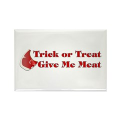 Halloween Meat Rectangle Magnet (10 pack)