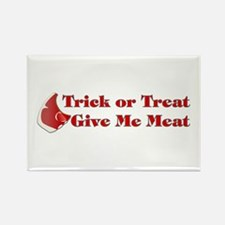 Halloween Meat Rectangle Magnet