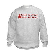 Halloween Meat Sweatshirt