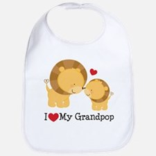 Cute Grandpop Bib