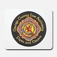 Orange County FD Pipes & Drum Mousepad