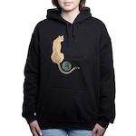 International Cheetah Women's Hooded Sweatshir