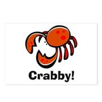 Crabby! Postcards (Package of 8)