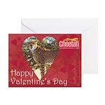 Romeo Valentine's Day Single Greeting Cards