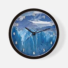 UPSALA GLACIER Wall Clock