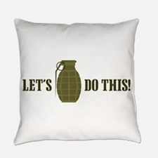 Lets Do This Everyday Pillow