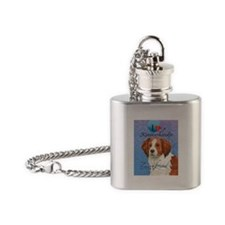 Kooikerhondje Flask Necklace