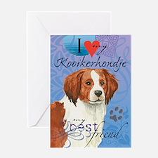 Kooikerhondje Greeting Card