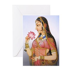 Shringar (Beauty) Greeting Cards (Pk of 20)