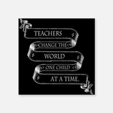 Teachers Change the World Sticker
