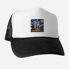 Starry / Tiger Cat Trucker Hat