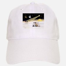 XmasDove-3 Siamese cats Baseball Baseball Cap