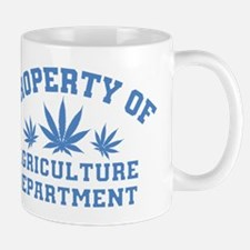 Property OF Agriculture Department Mugs