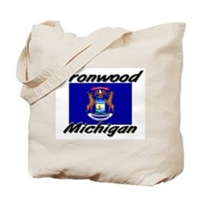 Ironwood Michigan Tote Bag