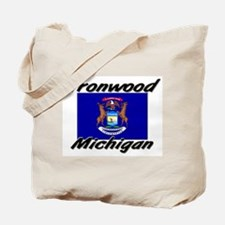 Ironwood Michigan Tote Bag