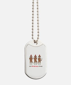 Monkeying Around Dog Tags