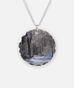 Snow Scenery Necklace