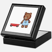 Boy Teddy Bear Keepsake Box
