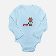 Boy Teddy Bear Body Suit