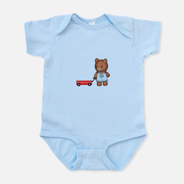 Boy Teddy Bear Body Suit