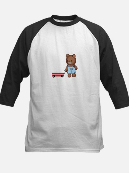 Boy Teddy Bear Baseball Jersey