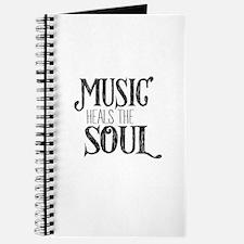 MUSIC HEALS THE SOUL Journal