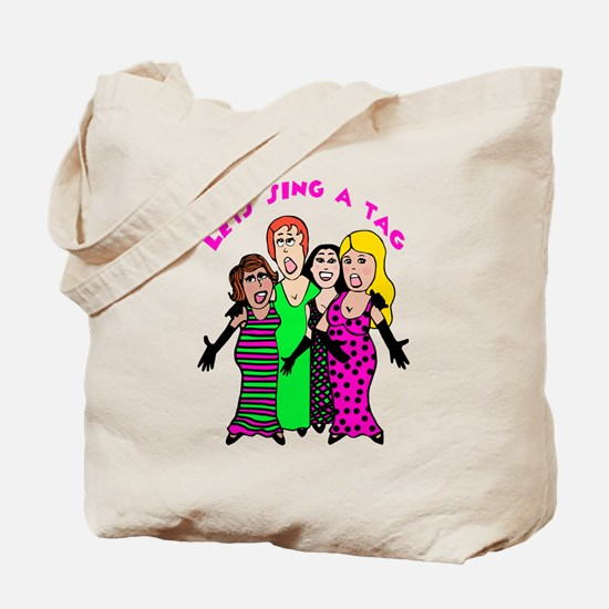 Cute Adeline Tote Bag