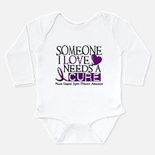 Unique Cystic fibrosis awareness Long Sleeve Infant Bodysuit