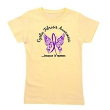 Funny Purple ribbon Girl's Tee