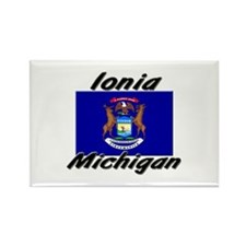 Ionia Michigan Rectangle Magnet