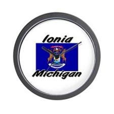 Ionia Michigan Wall Clock