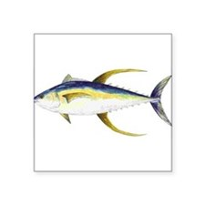 "Unique Saltwater fish Square Sticker 3"" x 3"""