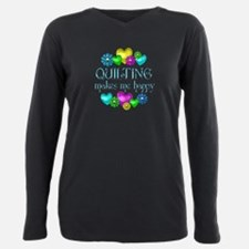 Quilters Plus Size Long Sleeve Tee