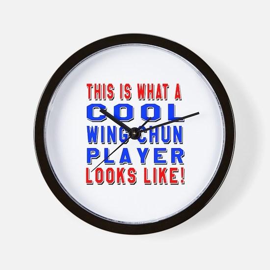 Wing Chun Player Looks Like Wall Clock