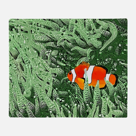 Clownfish Throw Blanket