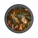 The Hunting Party Wall Clock