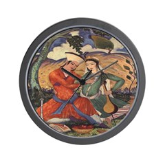 Passion and Music Wall Clock